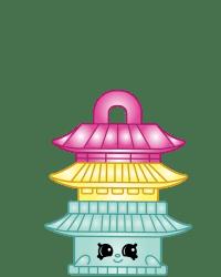 Zen Temple #8-152 - Shopkins Season 8 - Bag Charms