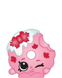 Mackenzie Maple Donut #8-187 - Shopkins Season 8 - Canadian Cuties Team