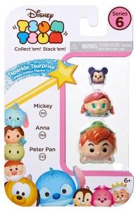 Disney Tsum Tsum Figure 3 Pack Series 6