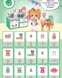 Shopkins Happy Places Season 2 - Kitty Kitchen List / Checklist