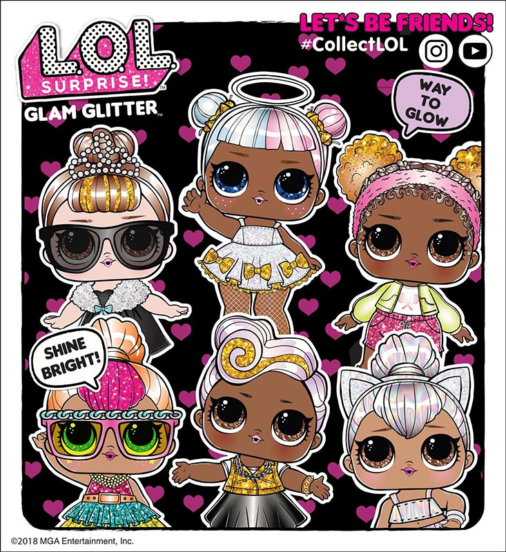 L.O.L. Surprise!! Glam Glitter Serie 2 MGA Entertainment