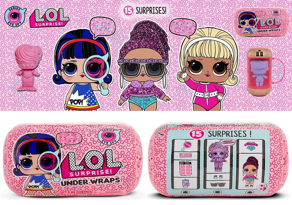 Lol Surprise Series 4 Dolls Kids Time