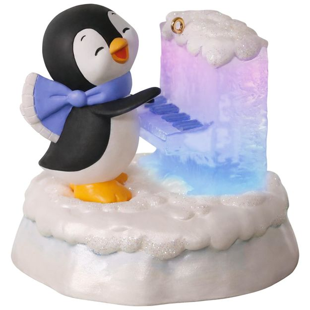 hallmark christmas ornaments 2017 qgo1015 merry music maker playful piano penguin - Hallmark Christmas Decorations 2017