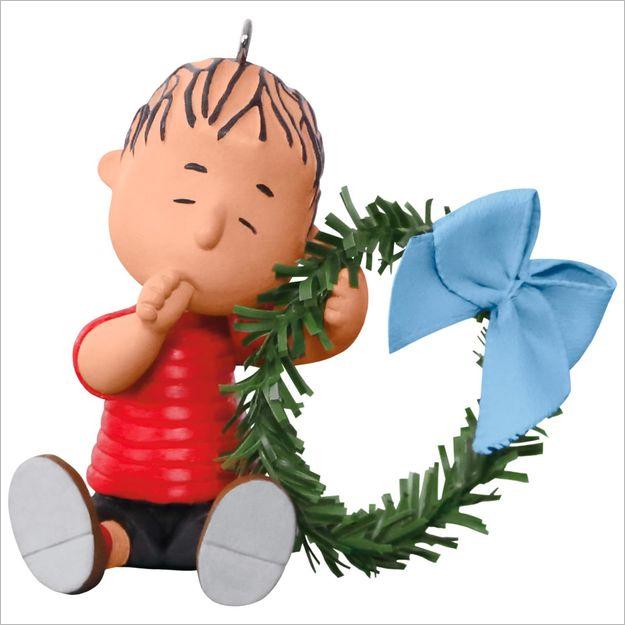 hallmark christmas ornaments 2017 qxi3292 comfy christmas for linus peanuts