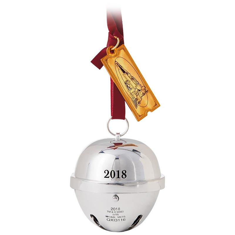 hallmark keepsake ornaments list by year 2018 movies the polar express the first gift of christmas ornament with sound