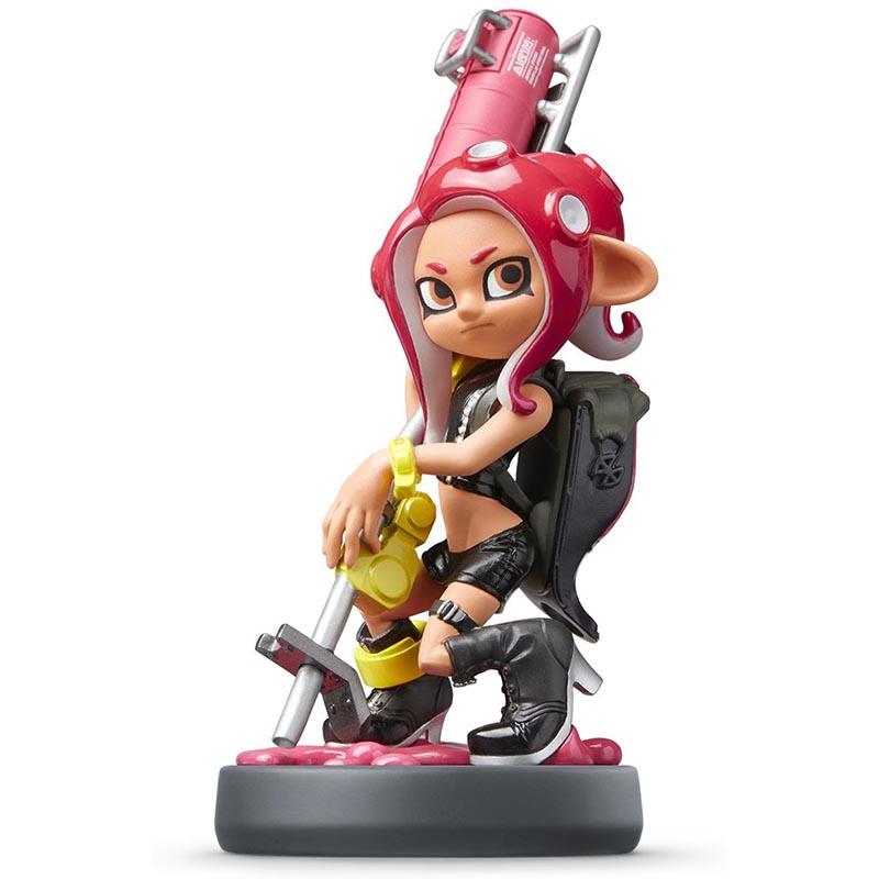 Nintendo Amiibo Octoling Girl Splatoon Kids Time