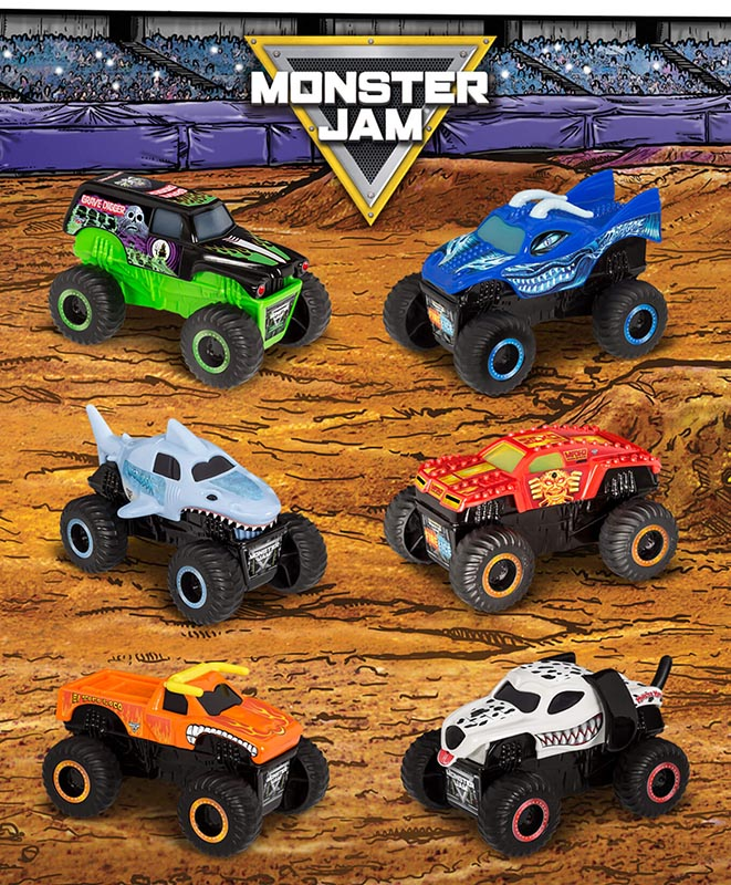 Mcdonald S Happy Meal Toys January 2019 Monster Jam