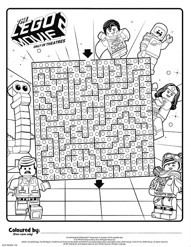 51 Best Lego Movie Coloring Pages images | Lego movie coloring ... | 792x612