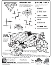 McDonald's Happy Meal Coloring and Activity Sheets 2 – Kids Time