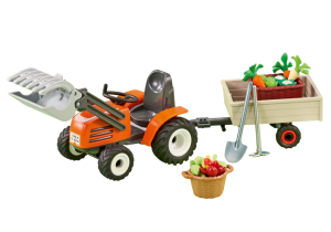 Playmobil Country - 6537 Compact Front Loader with Trailer