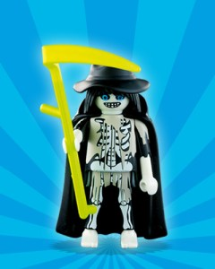 Playmobil Figures Series 1 Boys - Grim Reaper