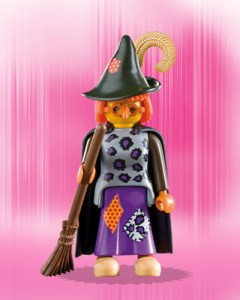 Playmobil Figures Series 1 Girls - Witch