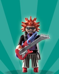 Playmobil Figures Series 2 Boys - Punk Rocker