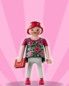 Playmobil Figures Series 3 Girls - Pregnant Woman