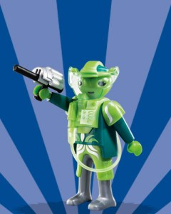Playmobil Figures Series 6 Boys - Alien