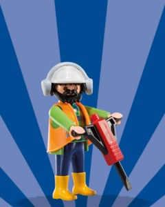 Playmobil Figures Series 6 Boys - Worker