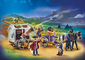 70073 PLAYMOBIL:THE MOVIE Charlie with Prison Wagon