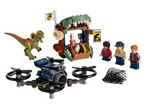 LEGO® Jurassic World™ Products Dilophosaurus on the Loose 75934