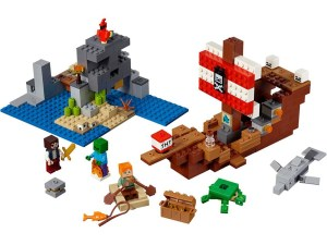 LEGO® MINECRAFT Products The Pirate Ship Adventure - 21152