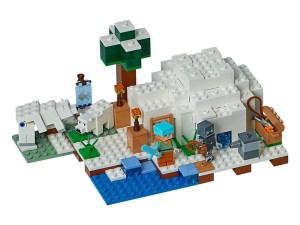 LEGO® MINECRAFT Products The Polar Igloo 21142