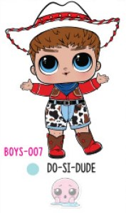 L.O.L. Surprise! Boys Series 1 - BOYS-007 Do-Si-Dude