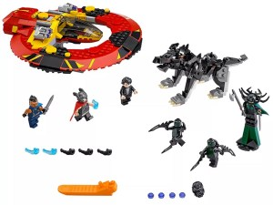 LEGO® Marvel Super Heroes The Ultimate Battle for Asgard 76084