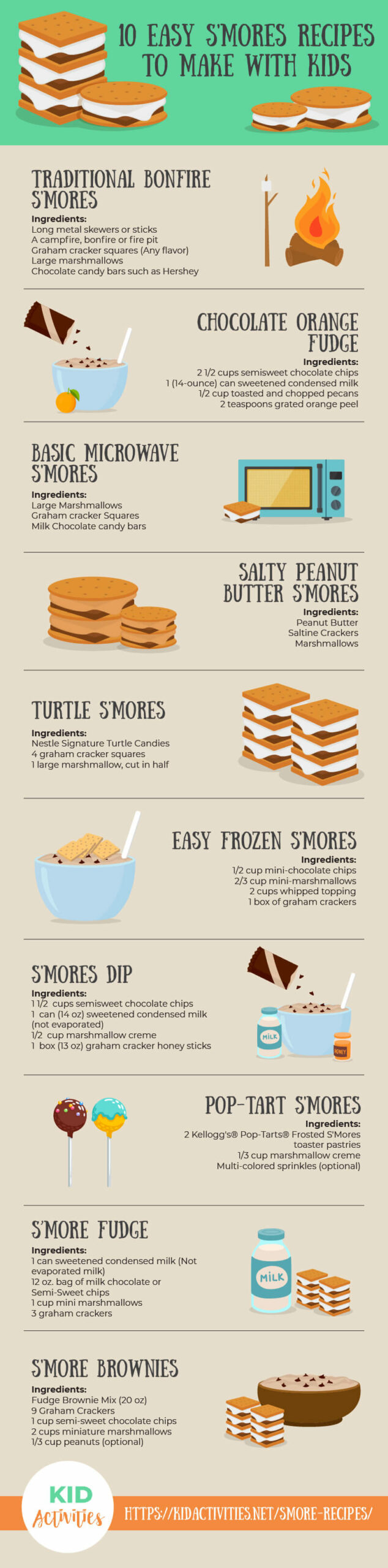 13 easy smore recipes to make with kids