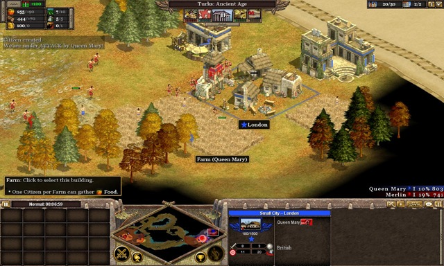 Rushing in Rise of Nations