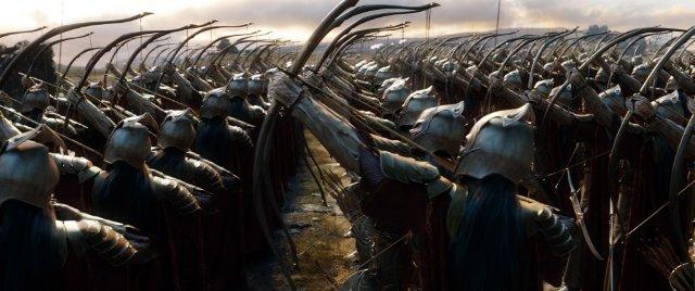 Elvish Army Standoff
