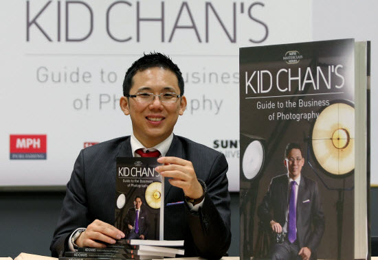 Photographer Kid Chan shares his experiences in photography in his new book, 'Kid Chan's Guide to the Business of Photography'. ADIB RAWI/theSUN