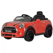 Mini cooper cabrio red