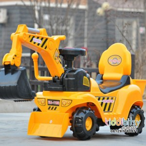 Motor aki Excavator BEKO Ride On