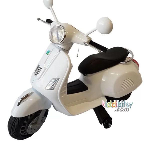 MOTOR-AKI-ANAK-MODEL-VESPA-SCOOTER-Putih