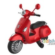 MOTOR-AKI-ANAK-MODEL-VESPA-SCOOTER-merah