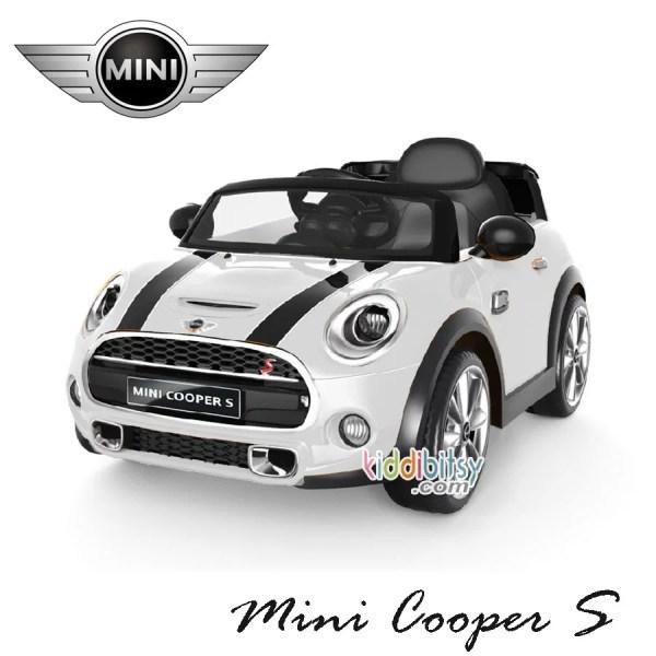 Mini Cooper Lisensi-white