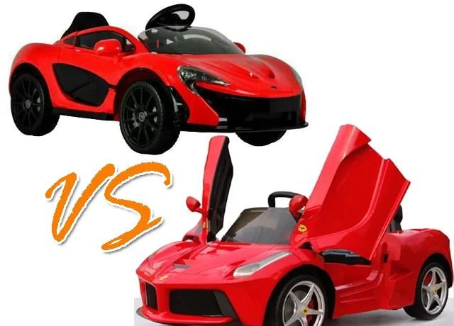 Review Mobil Aki Mclaren P1 VS LaFerrari
