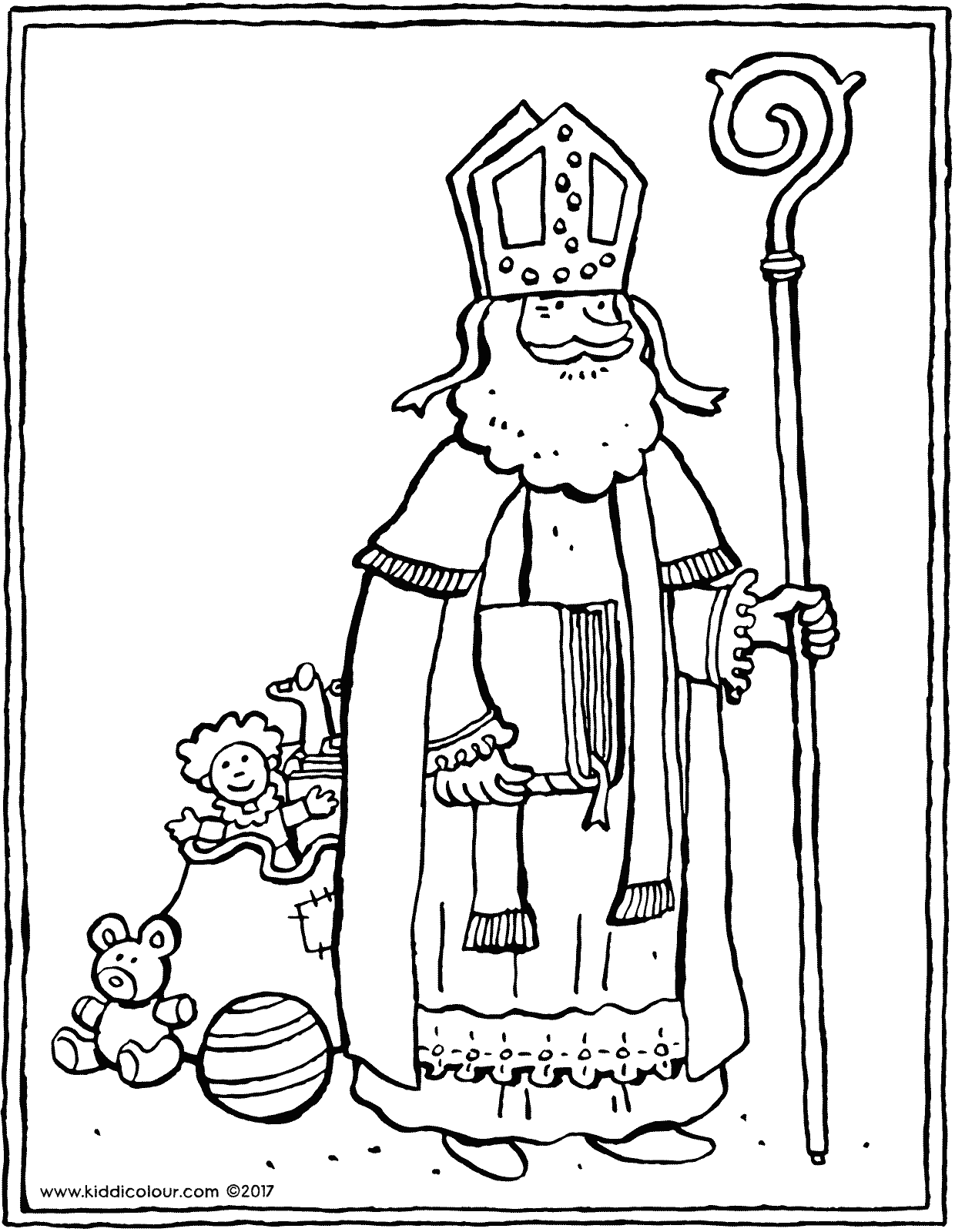Saint Nicholas Coloring Pages Free Coloring Pages Download | Xsibe ...