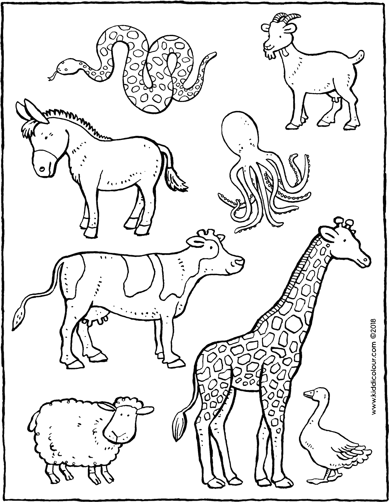 Find The Animals On The Farm