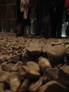 A pile of pebbles at the Royal Academy