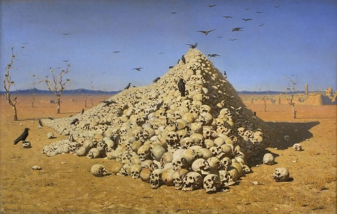 Vereshchagin Apotheosis of War at the Tretyakov Gallery
