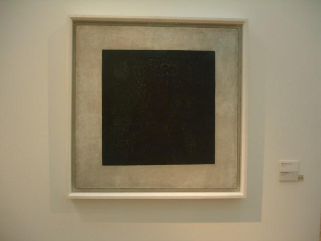 Malevich at the Tretyakov Gallery