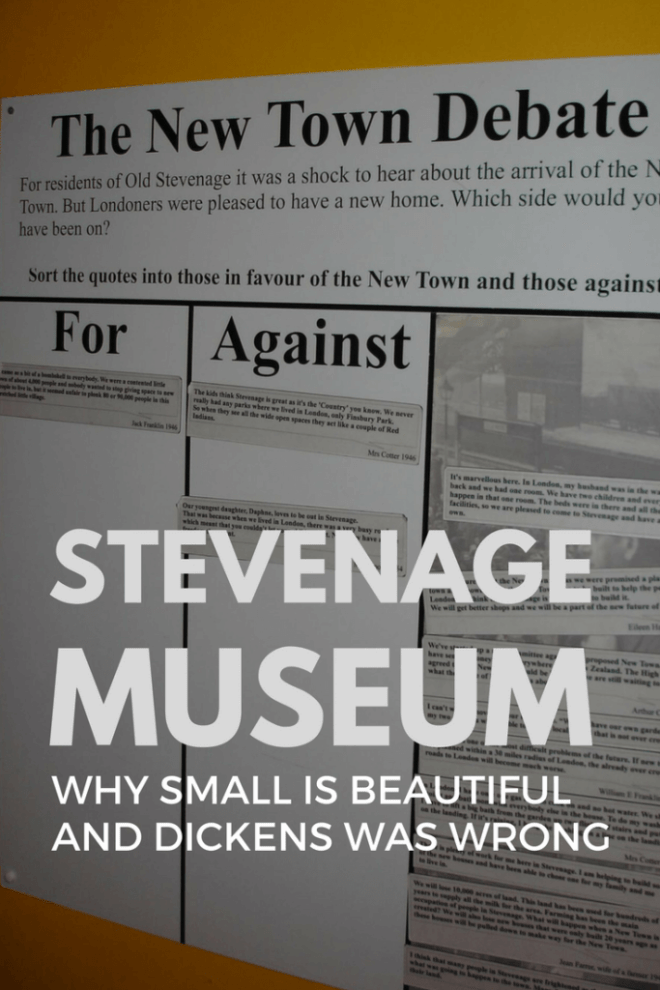 Stevenage Museum is an excellent example of a small local museum going out of its way to engage its visitors.