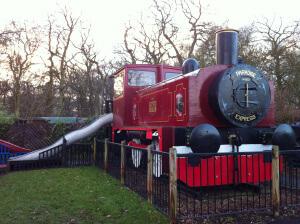 Train at Paradise Wildlife park