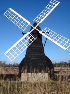 Windmill at Wicken Fen