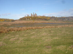 Dunstanburgh Castle nearly there
