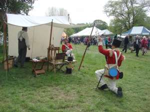 Historical Reenactment at Morden Hall Park Country Show