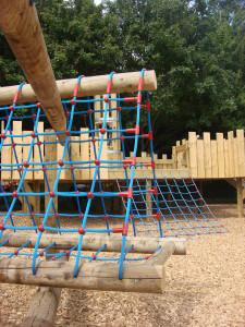 Play equipment at Battersea Park Children's Zoo