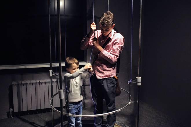 Bubble machine at the Experimentanium Museum