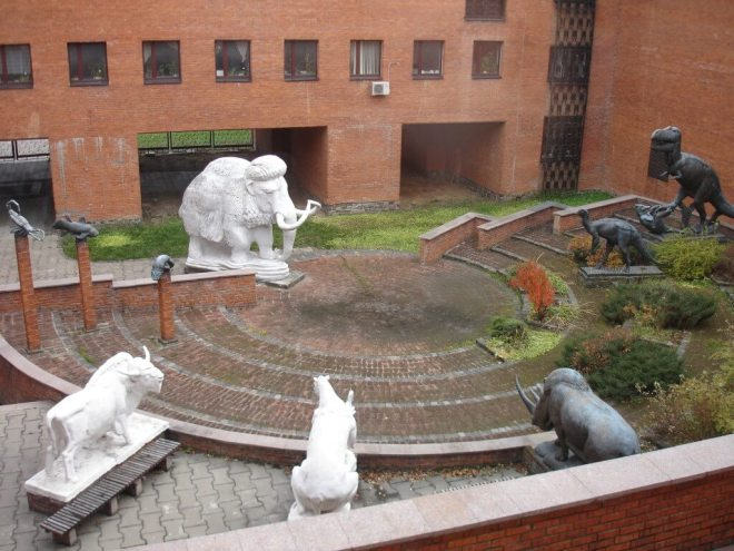Courtyard Paelonsoloty Museum Moscow