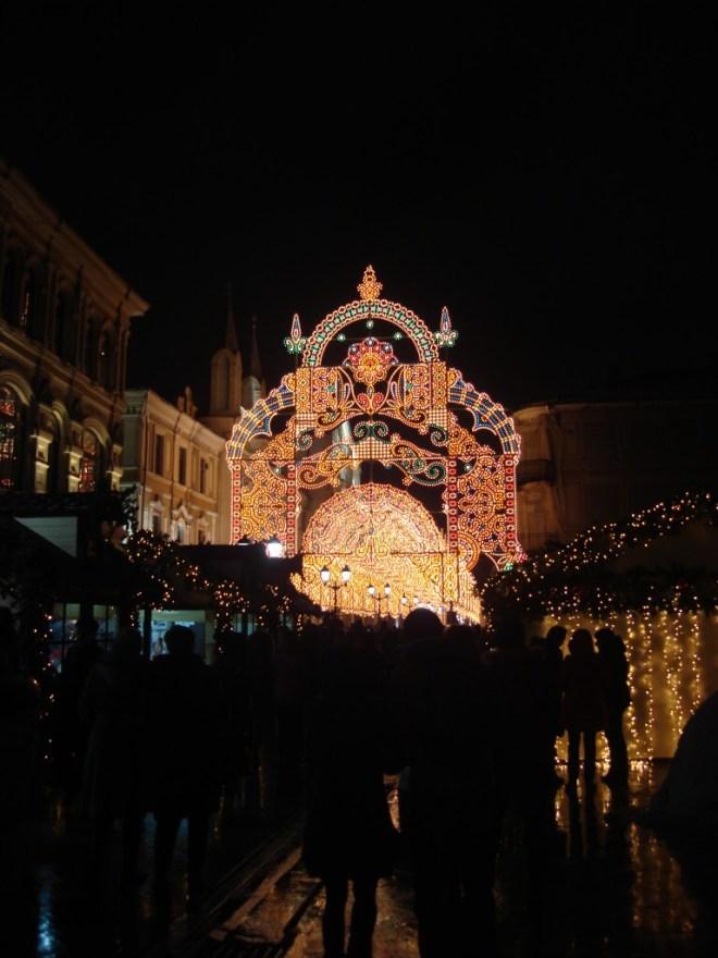 Fairytale Castle Lights Moscow